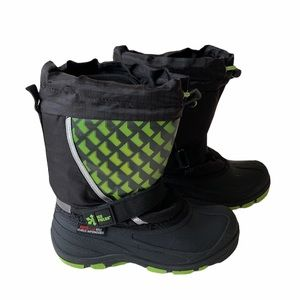 Ice Fields Lighted Snow Boots